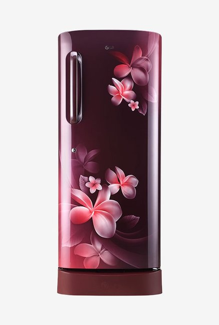 LG GL-D241ASPY 235 L Inverter 5 Star Direct Cool Single Door Refrigerator (Scarlet Plumeria)
