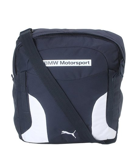 Buy Puma BMW Motorsport Navy & White Color Block Sling Bag ...