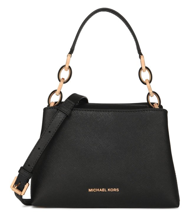 Michael Kors Portia Black Shoulder Bag