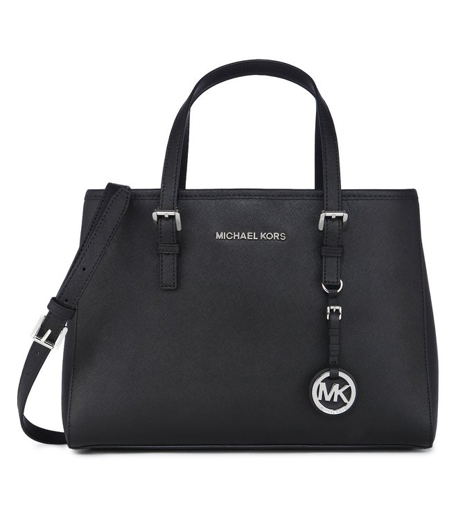 05b2c28a6cf5 Buy Michael Kors Jet Set Travel Medium Black Tote Bag For Women At ...