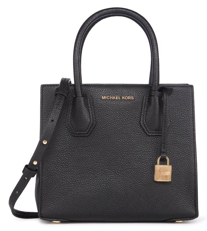 Michael Kors Mercer Medium Black Cross Body Bag