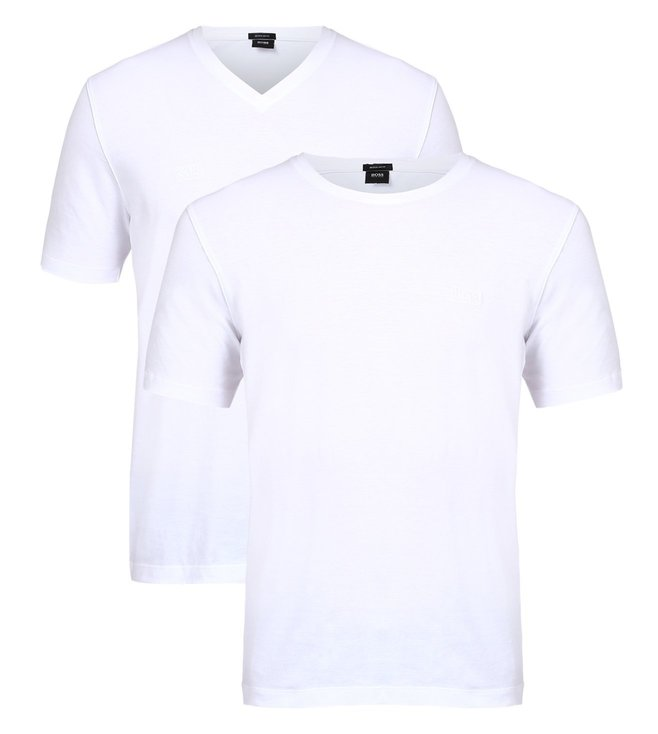 Boss Regular-Fit Cotton T-Shirt 'Twins 01' (Pack of 2)