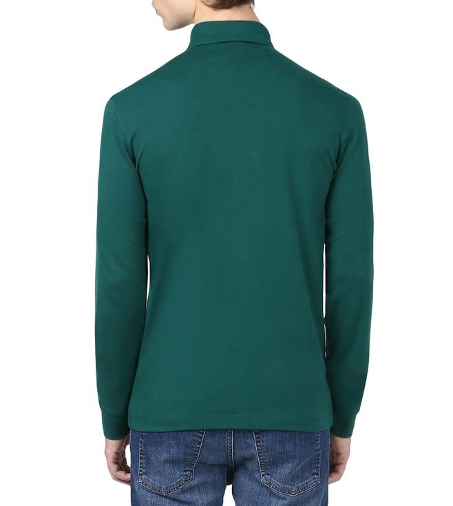 Boss Green Long-Sleeved Polo Shirt 'C-Paderna 30'