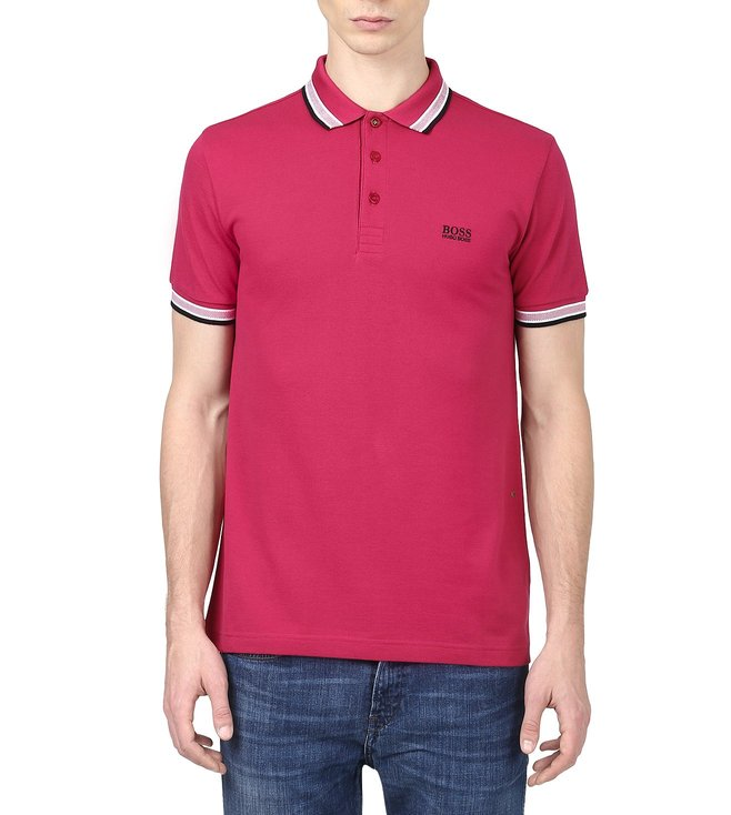 Boss Green Regular-Fit Pique Polo Shirt 'Paddy'