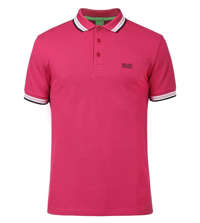 372146201 Buy Boss Green Regular-Fit Pique Polo Shirt 'Paddy' For Men At Best ...