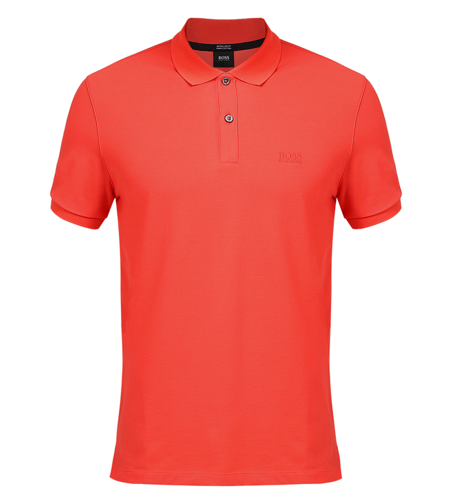 Boss Regular-Fit Cotton Polo Shirt 'Pallas'