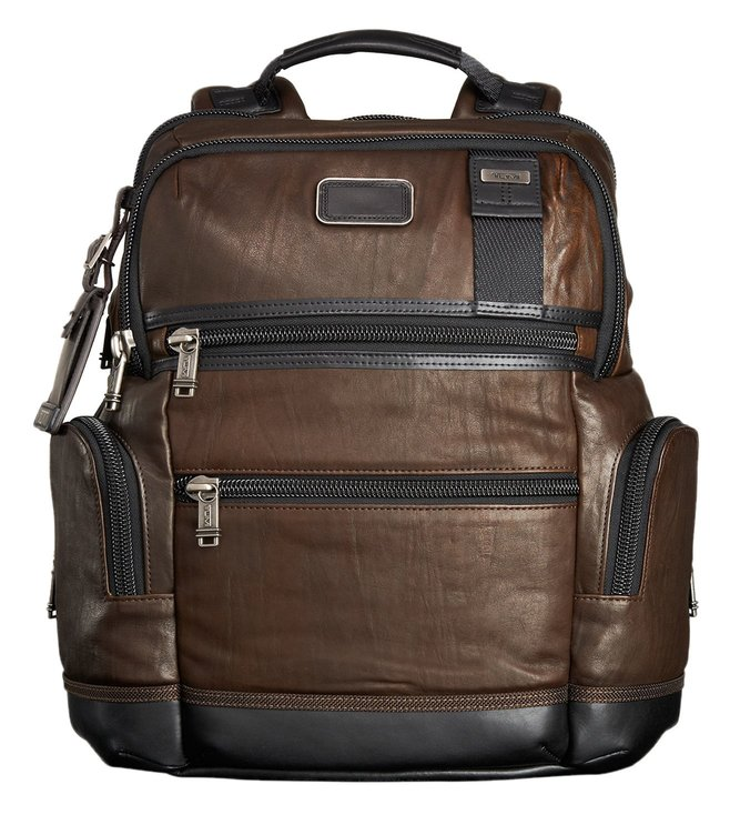 Tumi Alpha Bravo Knox Dark Brown Backpack