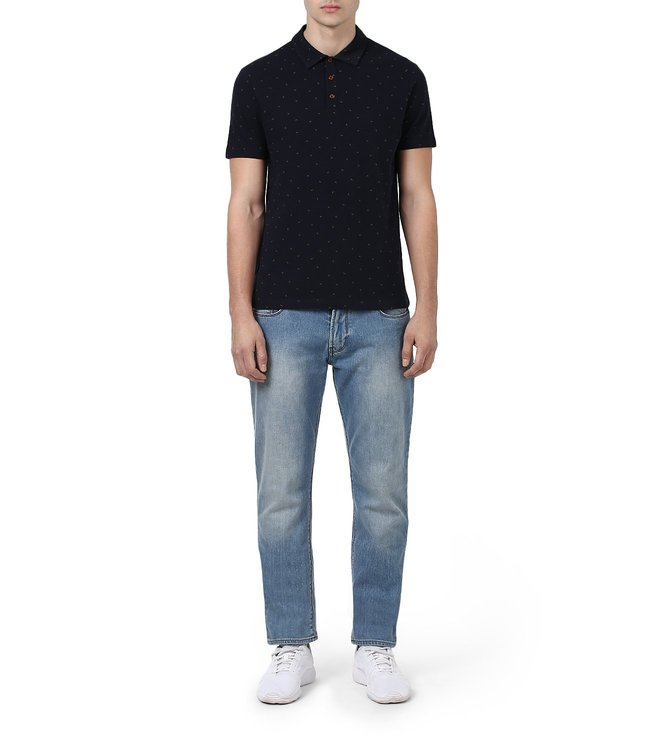 Armani Jeans Navy T Shirt