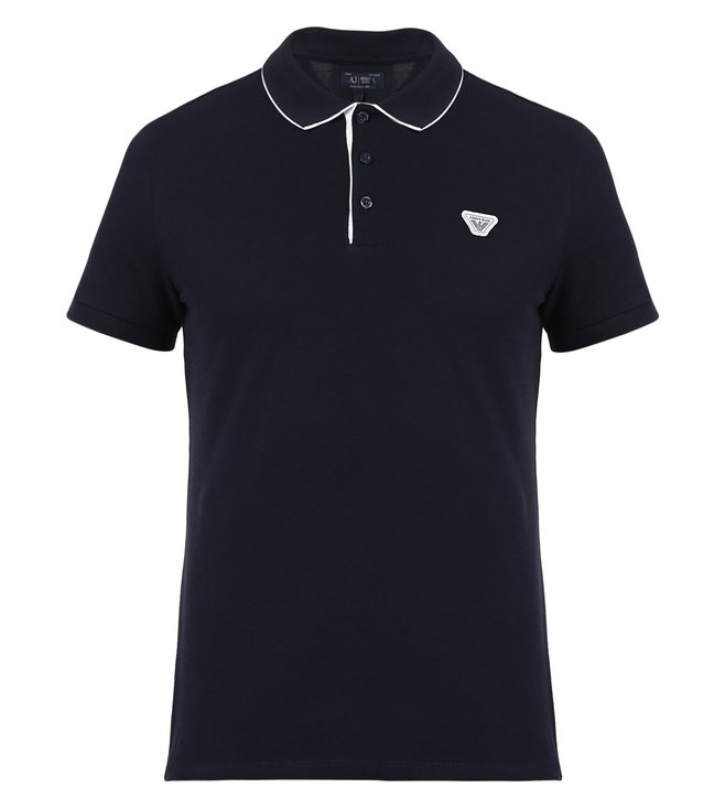 96ef80782b Buy Armani Jeans Navy Polo T Shirt For Men At Best Price @ Tata CLiQ ...