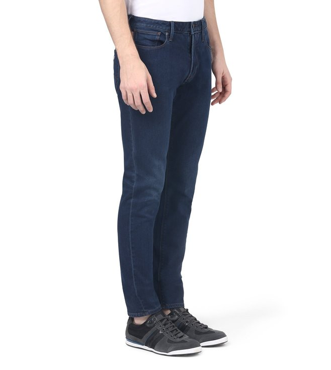 Armani Jeans Blue Slim Fit Jeans