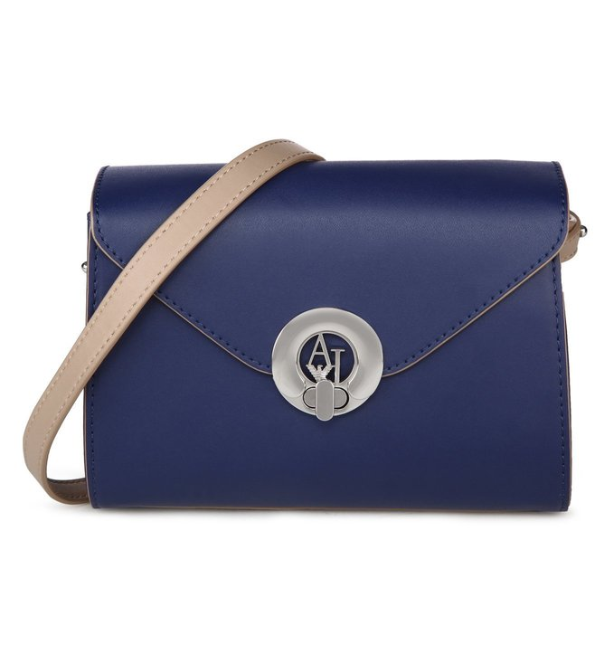 Armani Jeans Patriot Blue Cross Body Bag