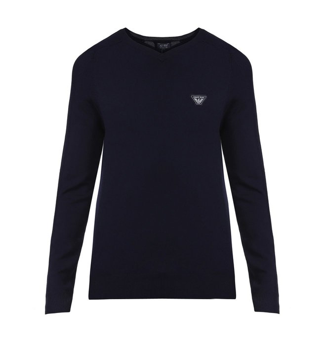 Armani Jeans Navy Sweater