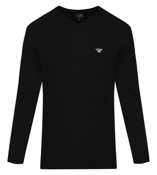 Armani Jeans Black Sweater