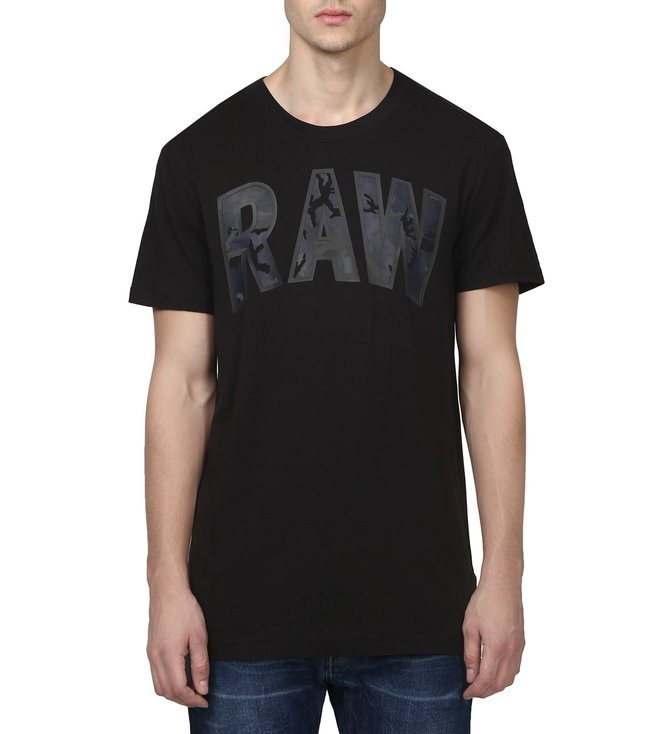 G-Star RAW Poskin Black T-Shirt