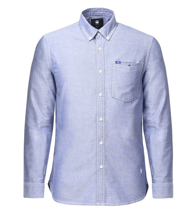 G-Star RAW Oxford Blue Shirt