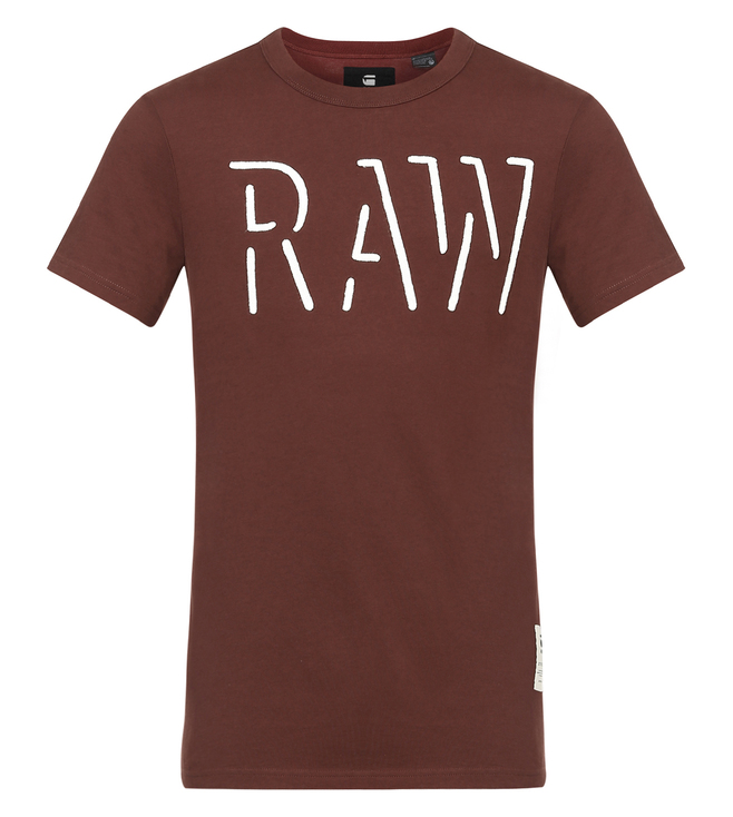 G-Star RAW Oimin Bordeaux T-Shirt