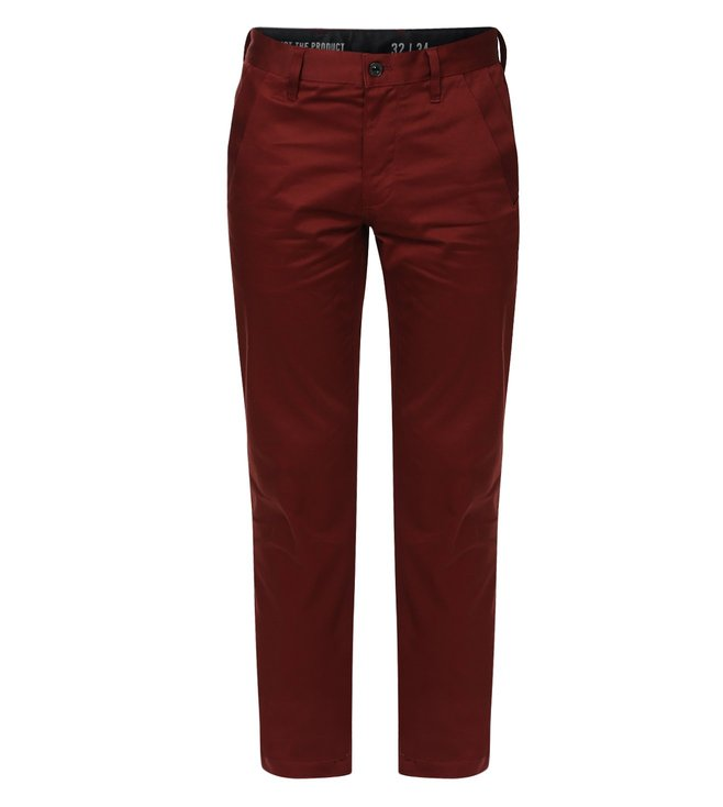 G-Star RAW Bronson Bordeaux Chinos