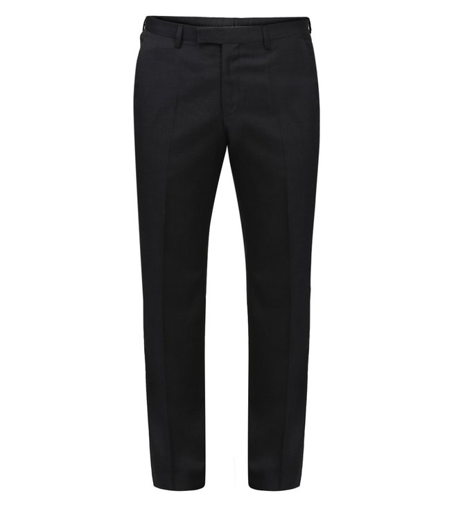 Boss Dark Grey Regular-Fit Trousers 'Shout'