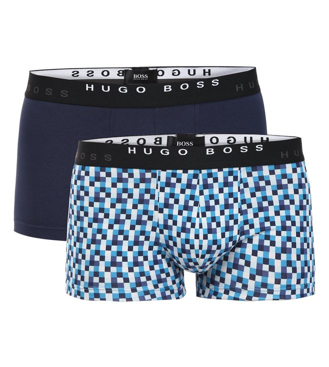 Hugo Boss Printed Boxer Shorts Pack Of 2
