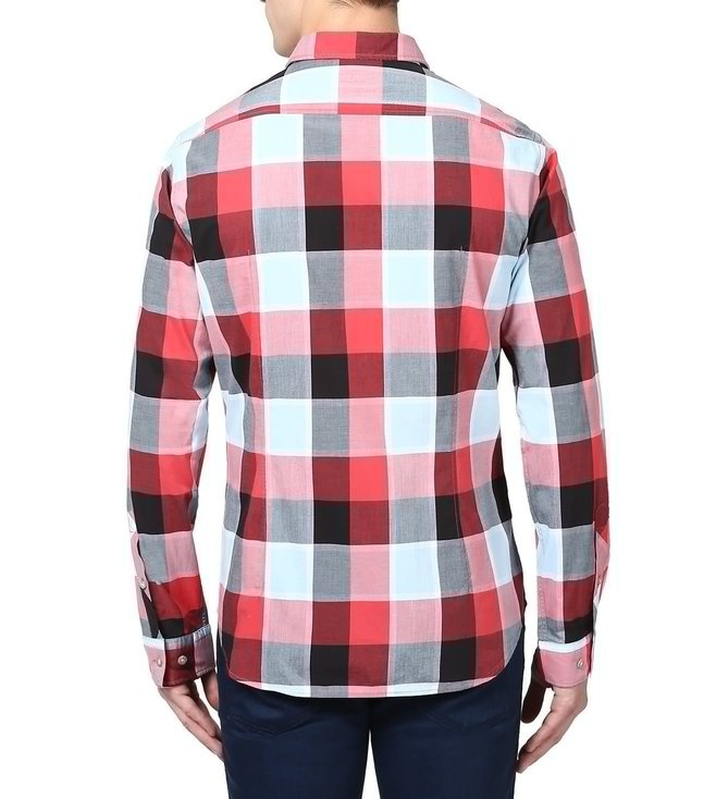 Boss Green Regular Fit Checked Casual Shirt 'C-Bansi'