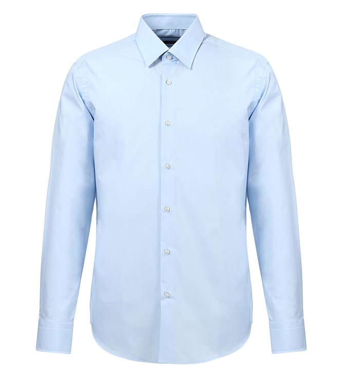 Boss Blue Regular-Fit Shirt 'Enzo'