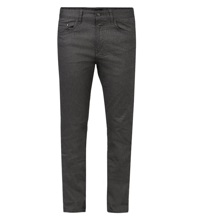 Boss Grey Slim Fit Solid Jeans 'Delaware3-20'