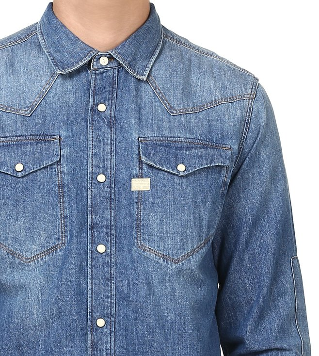 G-Star RAW Tacoma Blue Shirt