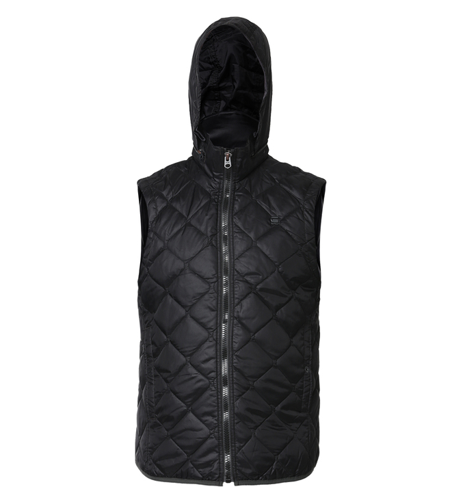 G-Star RAW Edla Black Vest Jacket