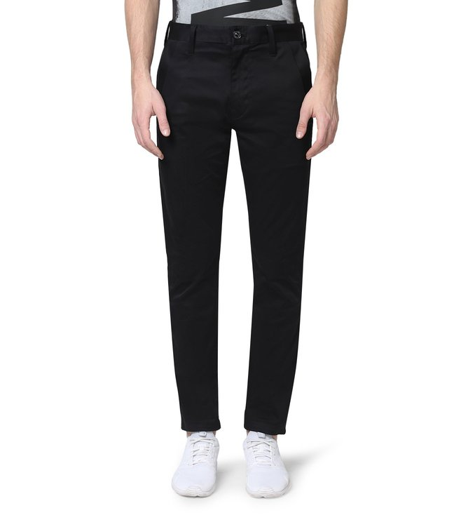 G-Star RAW Bronson Black Chinos
