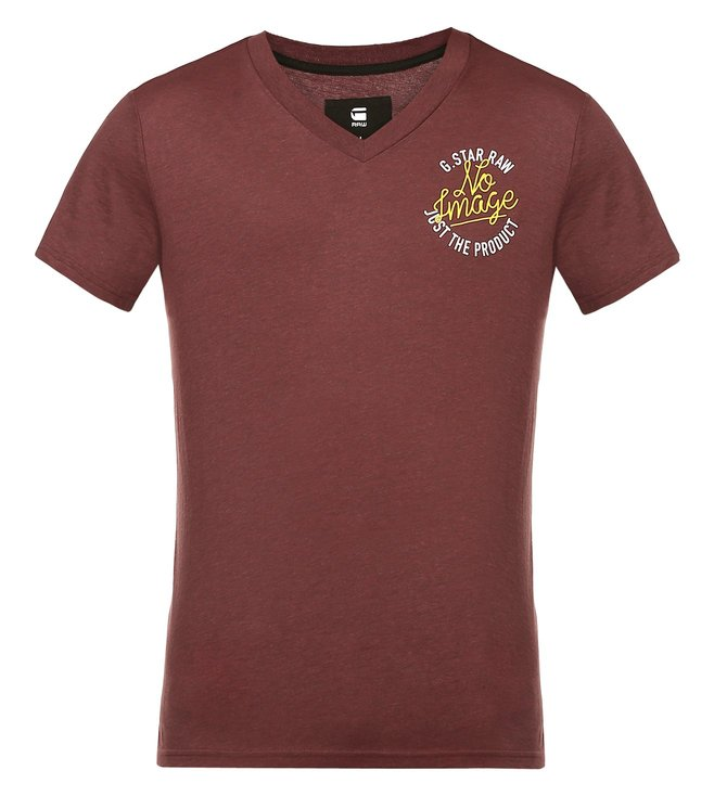 G-Star RAW Mogho Bordeaux T-Shirt