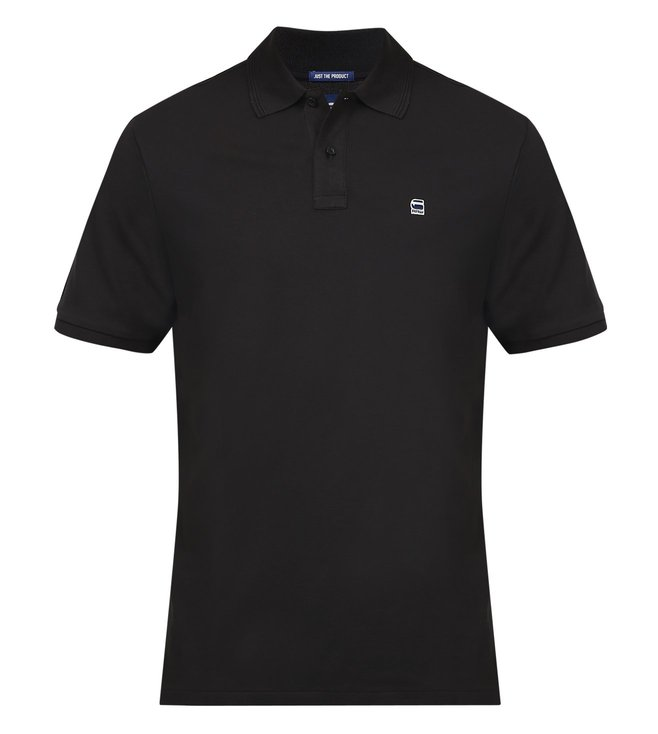 G-Star RAW Dunda Black Polo T-Shirt