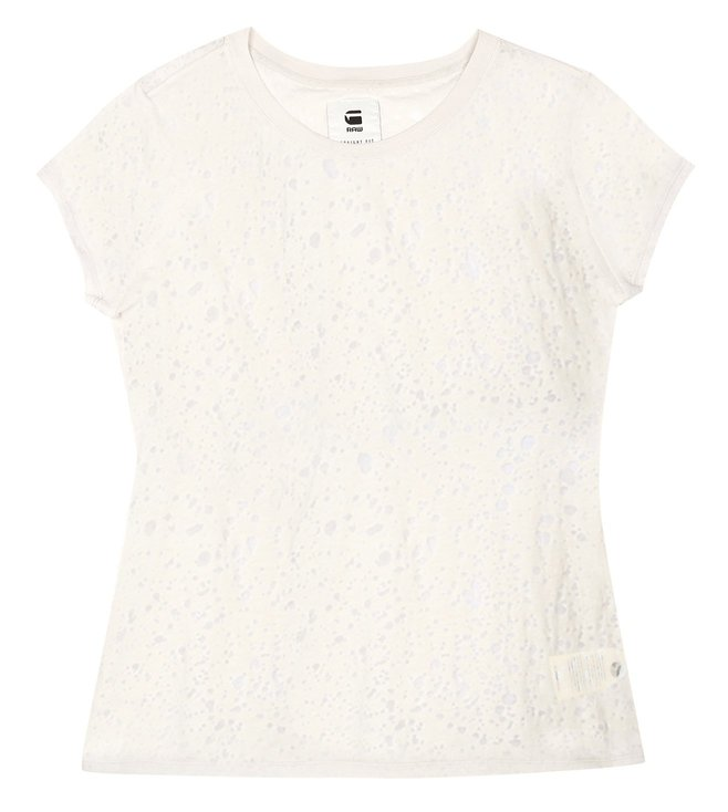 G-Star RAW Theagan Ivory T-Shirt