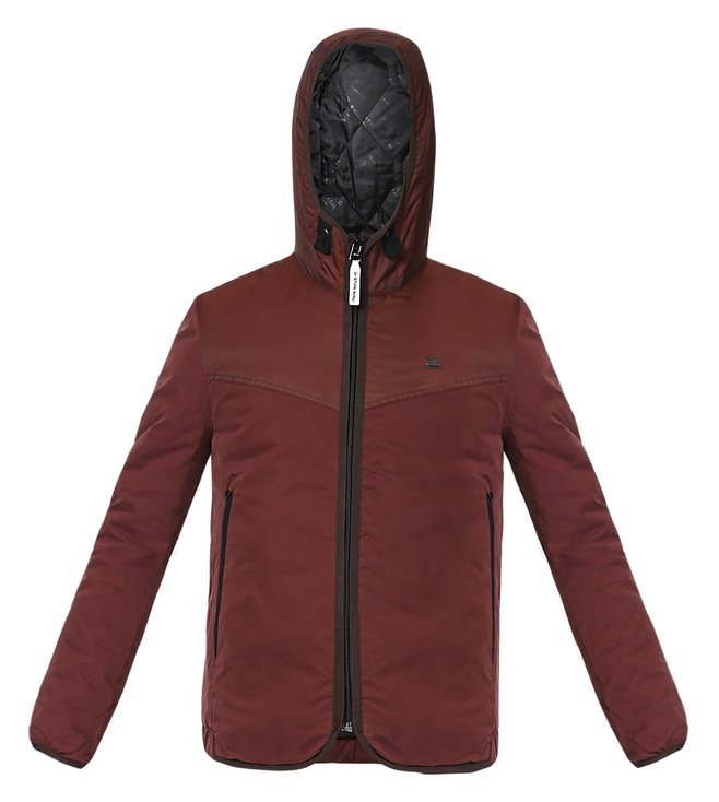 G-Star RAW Maroon Bomber Jacket