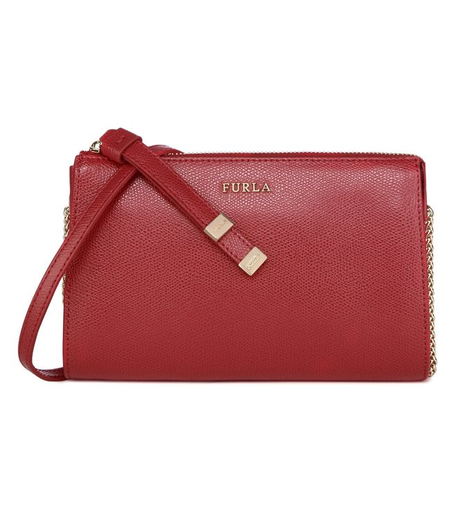 Furla Luna S Rosso Shoulder Bag