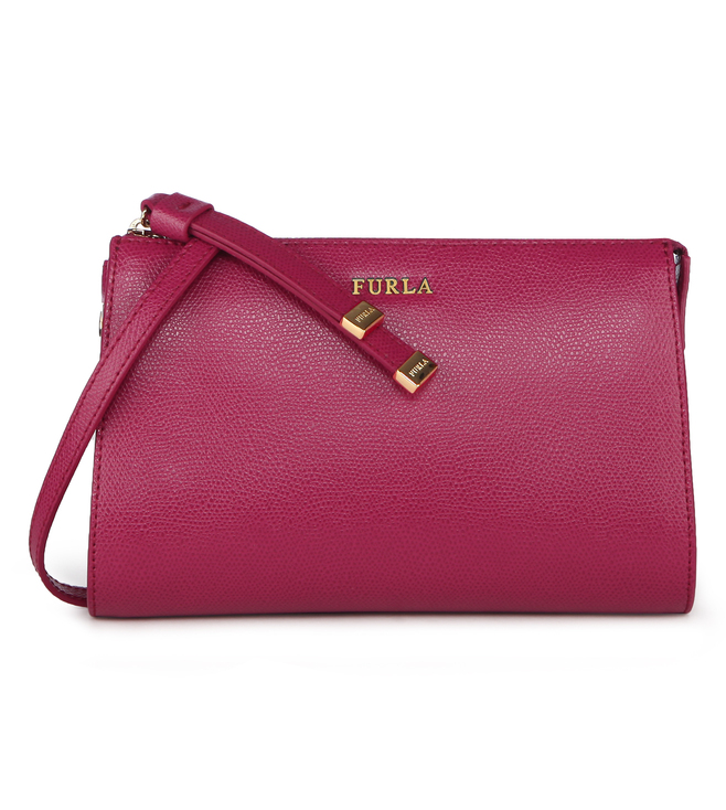 Furla Luna S Lampone Shoulder Bag