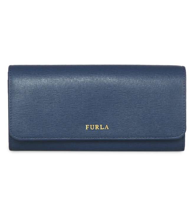 Furla Babylon Xl Blue Cobalt Clutch