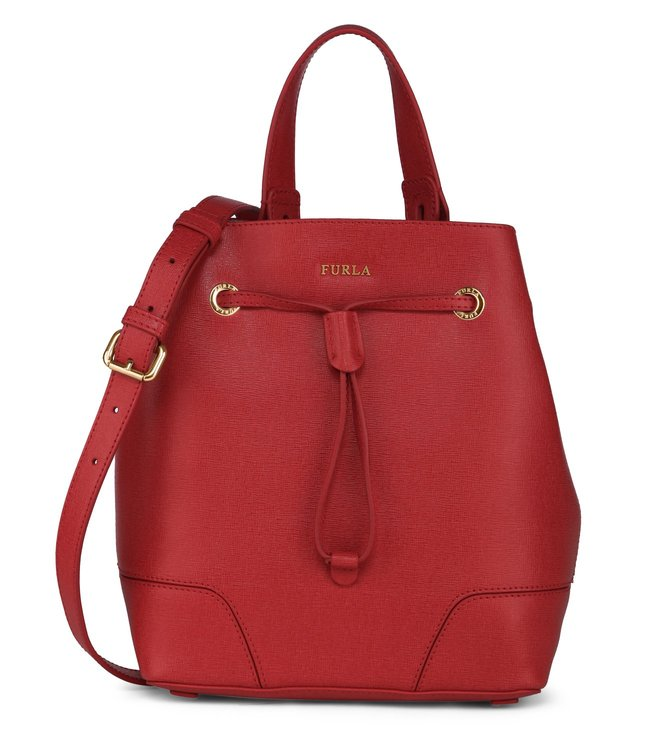 Furla Stacy S Rosso Shoulder Bag