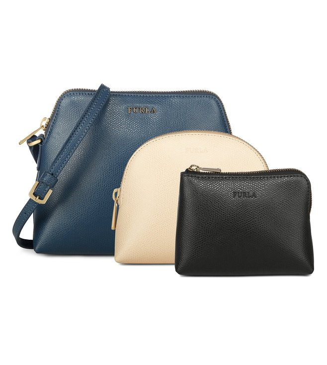 Furla Boheme Xl Cross Body Pouch (Set Of 3)