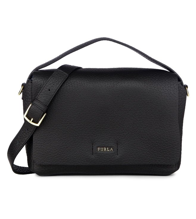 Furla Capriccio S Onyx Cross Body Bag