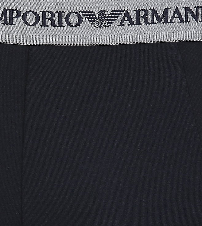 Emporio Armani Grigio & Marine Trunks (Pack Of 2)