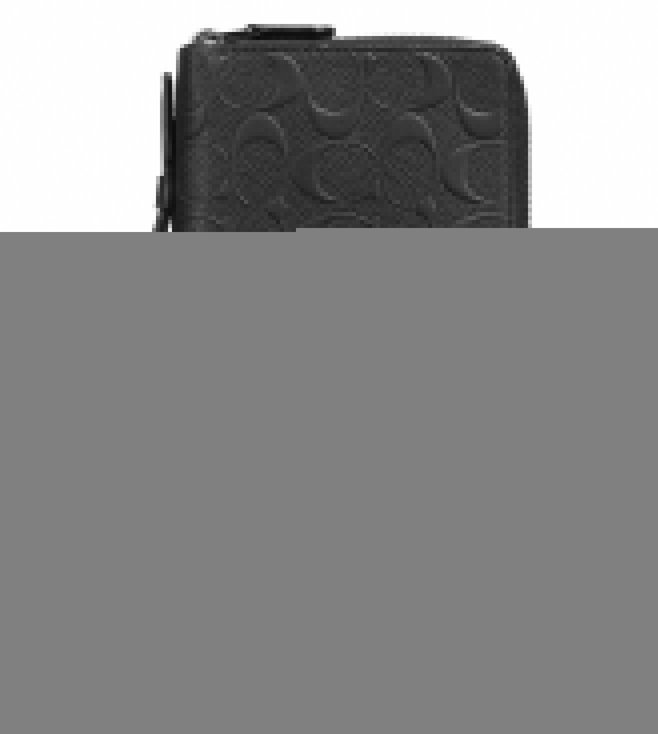 Coach Midnight Double Zip Travel Organizer