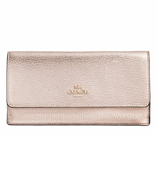Coach Platinum Soft Wallet