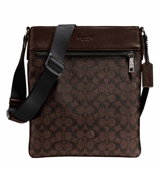 Coach Mahogany Bowery Crossbody Bag