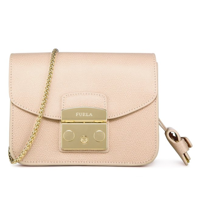 Furla Metropolis Mini Magnolia Cross Body Bag