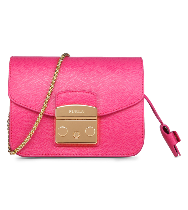 Furla Metropolis Mini Pinky Cross Body Bag