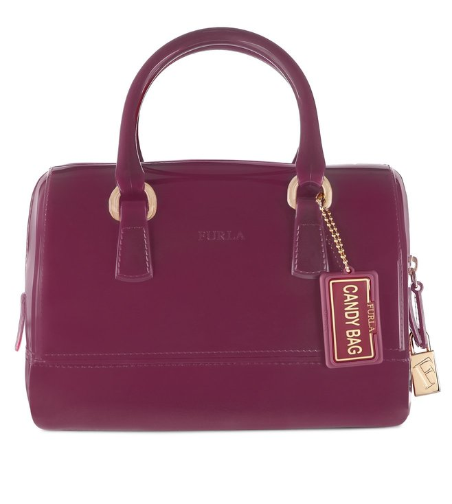 Furla Candy Cookie S Lampone Satchel