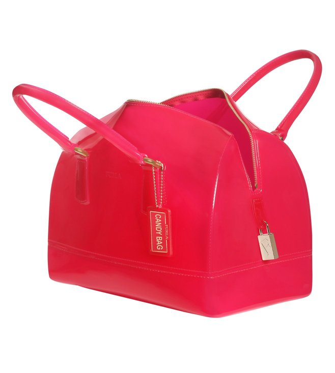 Furla Candy M Gloss Satchel