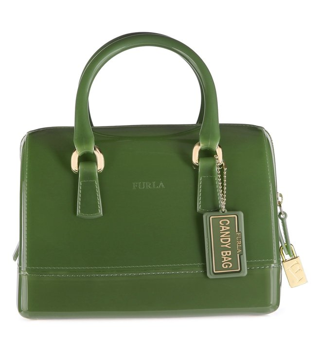 Furla Candy Cookie S Oliva Satchel
