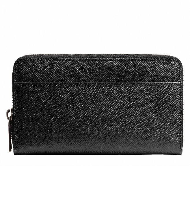 Coach Black Accordion Wallet