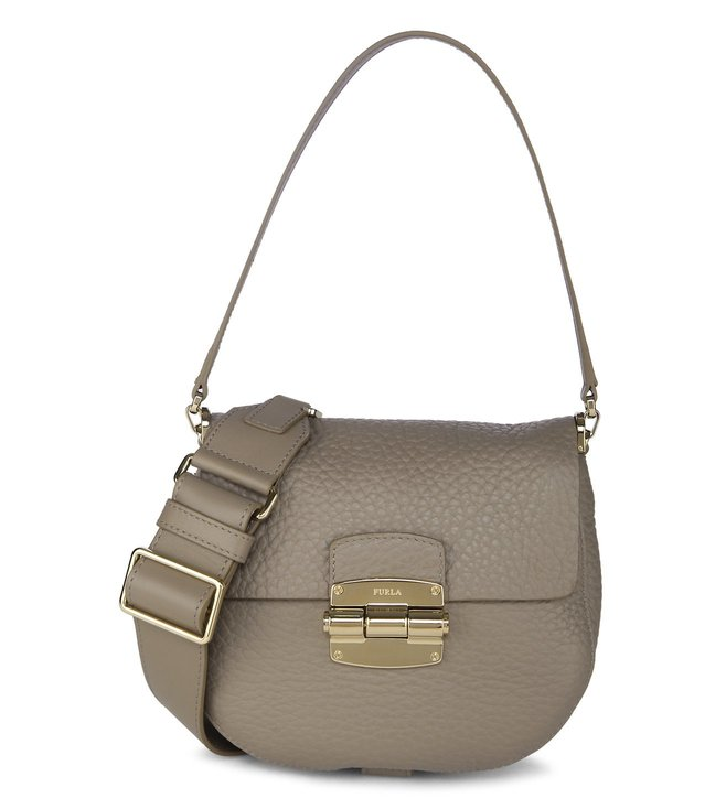 Furla Club Mini Tortora Cross Body Bag